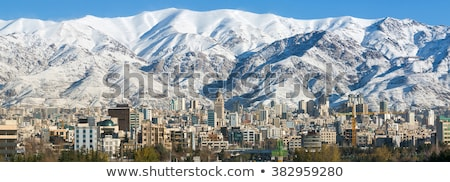 Tehran panorama, Iran Stock photo © joyr