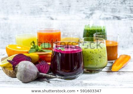 Fresh pressed juice Stock photo © BarbaraNeveu