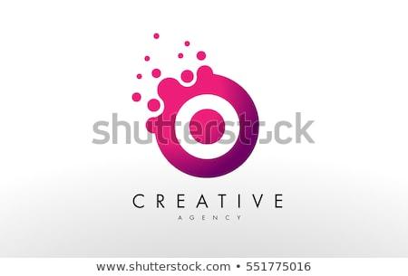 Logo carta diseno vector negocios Foto stock © twindesigner