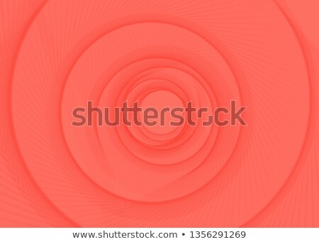 Vector gestreept spiraal abstract tunnel Rood Stockfoto © Iaroslava