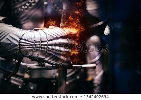 vikingek · csempék · nő · férfi · pár · vicces - stock fotó © solarseven