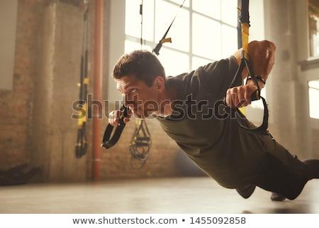 トレーニング · スポーツ · 若い男 · 訓練 · 外 - ストックフォト © pressmaster