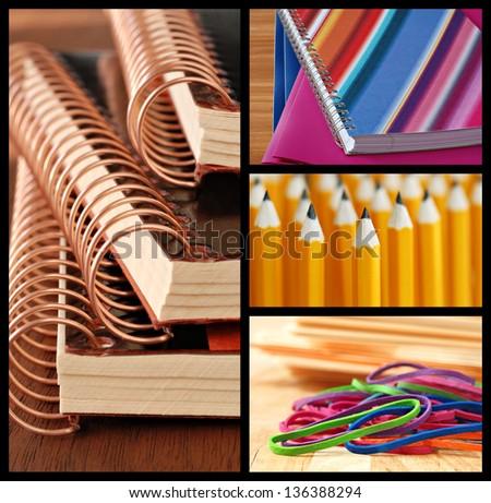 Stockfoto: Macro · spiraal · boeken · zwarte · witte