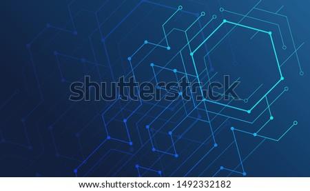 technological background Stock photo © jonnysek