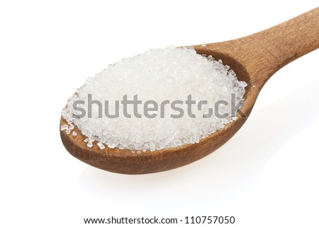 granulated sugar in a spoon Stock photo © Peredniankina