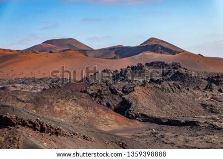Volkanik manzara park İspanya araba Stok fotoğraf © meinzahn