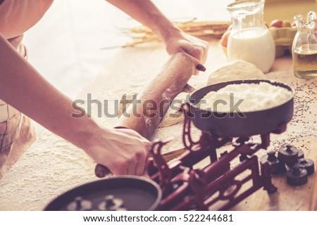 Retro look Pastry Stock photo © claudiodivizia