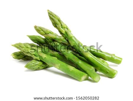 branco · espargos · verde · molho · queijo · Óleo - foto stock © hofmeester