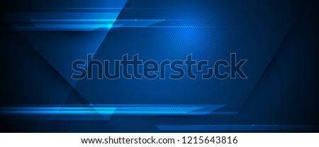 Absztrakt kék hullámos vonalak üzlet fény Stock fotó © zven0