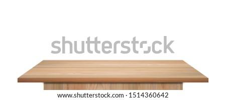 Lavoro tavolo in legno parola ufficio bambino vetro Foto d'archivio © fuzzbones0