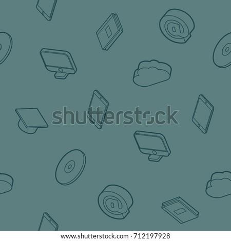 電卓 · 文房具 · 色 · ベクトル · オフィス - ストックフォト © netkov1