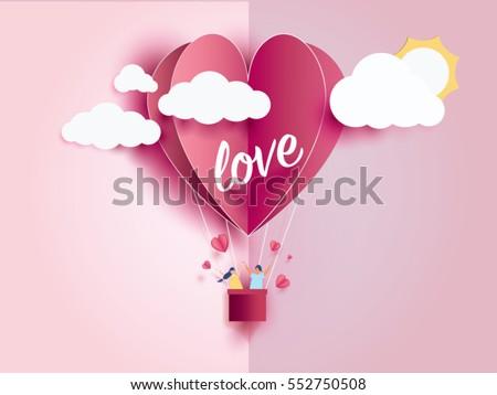artistic valentine card Stock photo © get4net