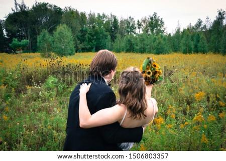 Sposa lo sposo matrimonio amore uomo donna Foto d'archivio © studiostoks