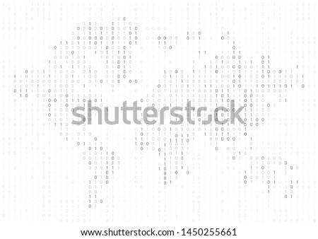 Мир карта аннотация признаков расплывчатый будущем иллюстрация Сток-фото © evgeny89