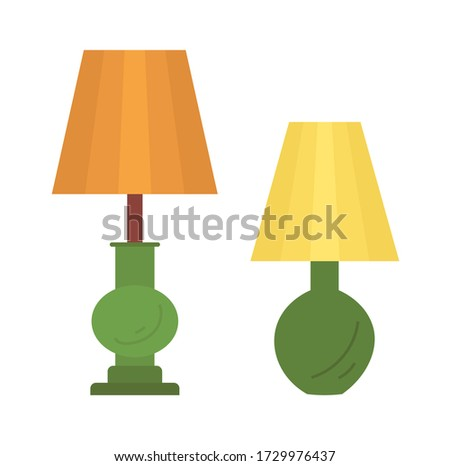 Torchiere Lamp designed to Stand on Floor Isolated Stock photo © robuart