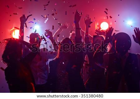 disco · danser · team · poseren · geïsoleerd · witte - stockfoto © paha_l