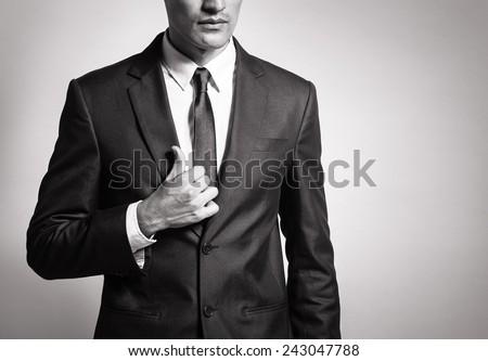genç · poz · ayna · kafe · dokunmak · sakal - stok fotoğraf © hasloo