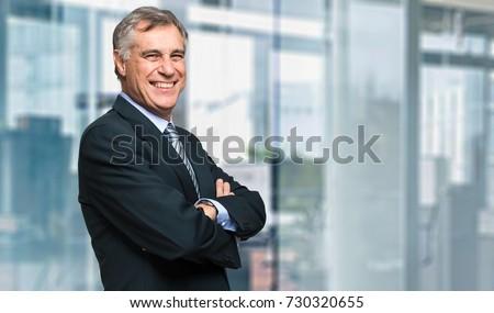 Portrait of a happy businessman Stock photo © photography33