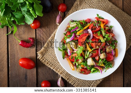 dish with vegetables Stock photo © M-studio