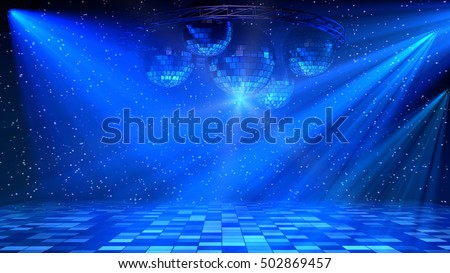 music club background for disco dance stock photo © davidarts