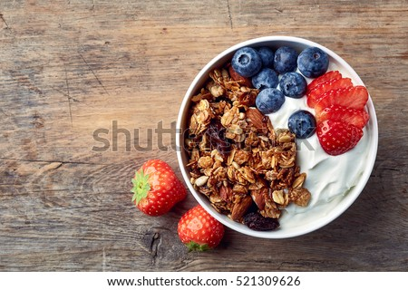 Joghurt étel tej búza kukorica energia Stock fotó © M-studio