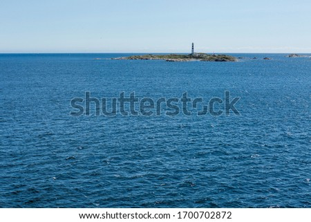 white spindrift of ship on ocean water at coast stock photo © roboriginal