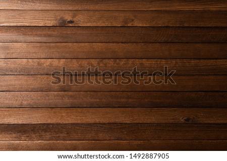 Marketing on wooden table Stock photo © fuzzbones0