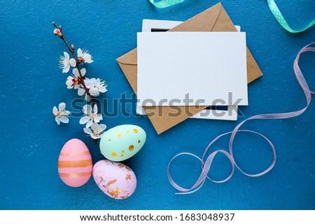 イースター · 背景 · 多くの · 卵 · わら - ストックフォト © karandaev