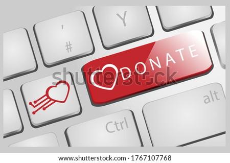 Dia vermelho texto medicina saudável Foto stock © carmen2011