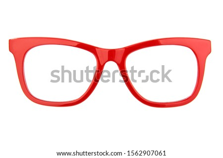 красный очки пару белый фон очки Сток-фото © nito