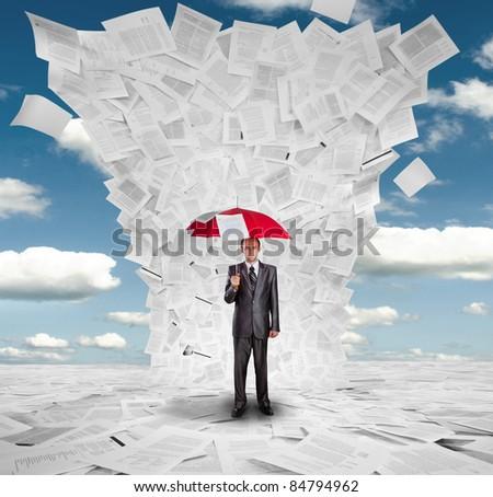 опасность бумаги слово знак документа Label Сток-фото © fuzzbones0