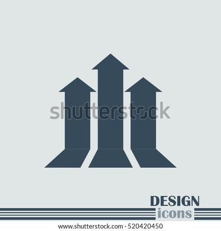 team growth arrow business concept background design Stock photo © SArts
