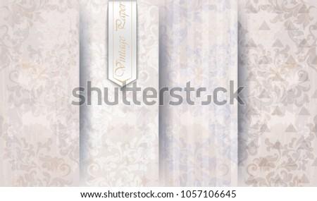 Graphic ornaments - vector set Stock photo © blue-pen