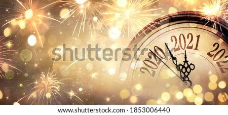 新しい 年 お祝い シャンパン フルート パーティ ストックフォト © tdoes
