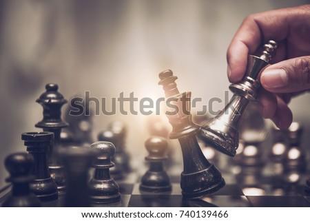 agradable · juego · ajedrez · ninos · jugando · sesión · mesa - foto stock © jonnysek