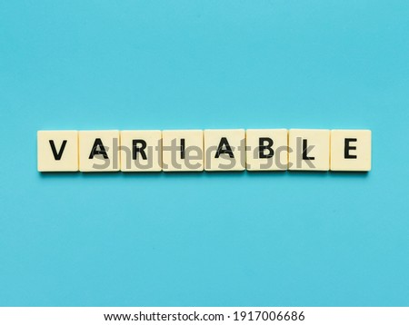 Price and Value word made by letter pieces Stock photo © fuzzbones0