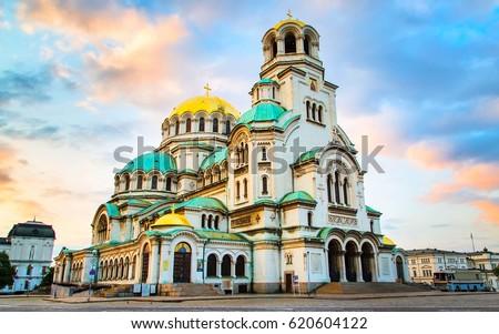 собора · православный · Таллин · старый · город · Эстония · небе - Сток-фото © backyardproductions