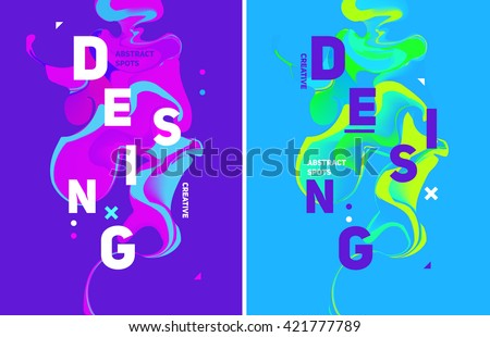 holi colors poster banner paper template stock photo © romvo
