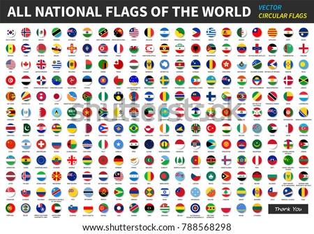 Foto stock: Bandeira · conjunto · ilustração · diferente · menina · avião