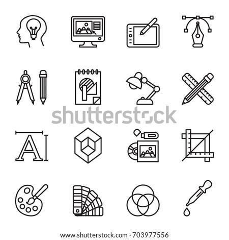 鉛筆 シンボル アイコン ロゴ ベクトル にログイン ストックフォト © blaskorizov