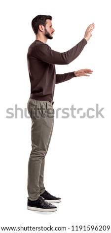 standing guy stock photo © paha_l