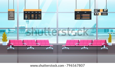 waiting hall in airport Stock photo © leungchopan