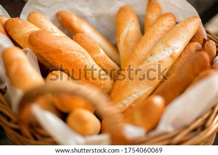 Frescos baguette pan comida Foto stock © raphotos