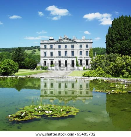 curraghmore house garden county waterford ireland stock photo © phbcz