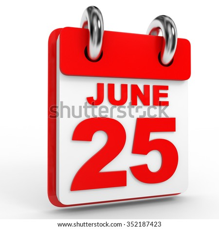 25th June Stock photo © Oakozhan
