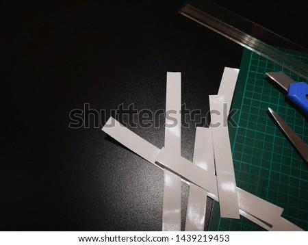 Design graphique coupé papier souverain travaux néon Photo stock © yupiramos