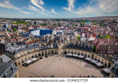ancient architecture in dijon stock photo © spectral