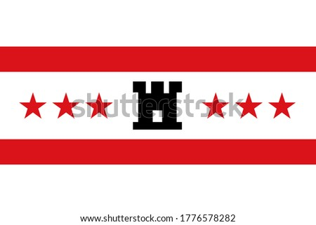 vlag · groot · maat · Nederland · regio - stockfoto © tony4urban