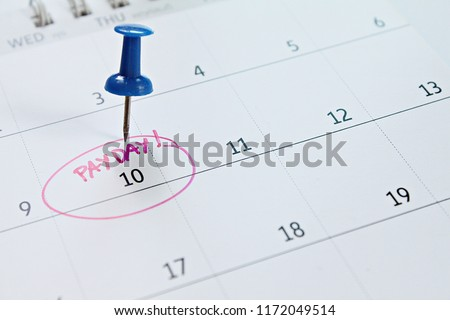 Pay day Stock photo © phakimata