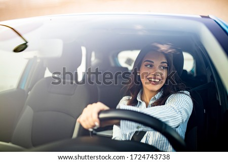 Female driver Stock photo © RazvanPhotography